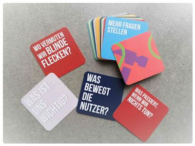 """+cards Set 1: """"Mehr Fragen Stellen"""""""