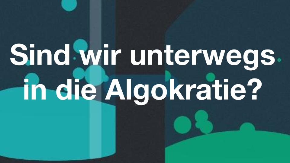 Algokratie? | Staehelin +zone Research